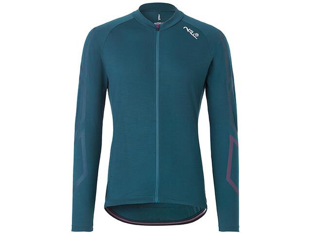Fe226 DryRide Bike Maillot à manches longues Homme, darkest green